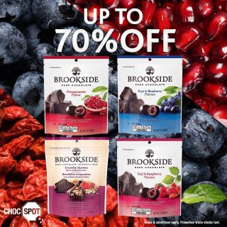 [BOLD DEALS ALERT 🎉🛍] 🧐 Celebrate being BOLD & BALLSY! Sweet & fruity flavours of BROOKSIDE, wrapped in a delicious ball of dark chocolate! Bold Deals here ⤵️ Brookside Dark Chocolate 198g (Assorted ) - 3 for $10 / 2 for $10 *Terms and conditions apply. While stocks last. Find out where to get these BALLSY from your nearest Choc Spot with the link here: https://www.chocspot.com.sg/