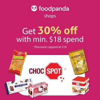 [Foodpanda Deal Now On] Order & have it delivered to your doorsteps 🚪 📢 Great Shops Sale on Foodpanda • Get 30% off with min $15 spend (capped at $10) • Extra 20% off with UOB Cards, apply code • Promotion Period: 7 - 17 Jun 2021, while stocks last. Find out from your nearest Choc Spot with the link here: https://www.chocspot.com.sg/ @ChocSpotSG #MilkChocolates #Treats #SpotOn #Happiness #snackathome#summersale #salesalesale #chocolates #foodpanda