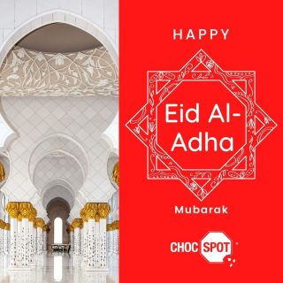 Selamat Hari Raya Haji! Also known as Eid al-Adha, it is celebrated on the 10th day of the final month of the Islamic calendar. Sending you our warmest wishes for a blessed Eid. May you and your family be blessed with good health, prosperity, joy and love. @chocspotSg ... . . . . #staypositive #happiness #harirayahaji#goodvibes #chocspotsg #singapore #sgdeals #eidmubarak #eidaladha