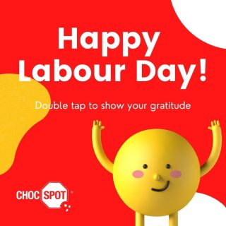 Happy Labour Day! Today is the day we recognised everyone's effort and dignity they put into the work. Every worker is a superhero at their job and there should be no one who is treated as less. Make sure that you tell the ones around you how grateful you are for their dedication and commitment before the day ends! @ChocSpotSG #LabourDayQuotes#SayThanks #internationalworkersday #showgratitude #happylaborday #mayday